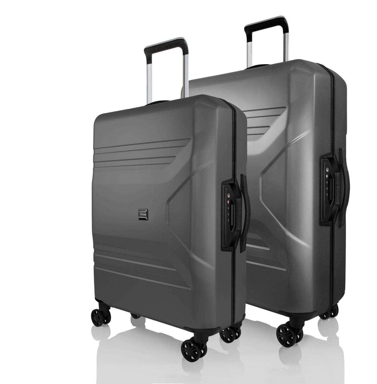 e68e940f9f17 Komplet 2 walizek (duża + średnia) marki Titan z kolekcji Prior ...