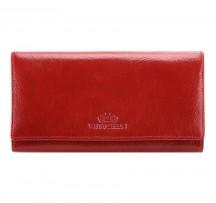 Wittchen Italy Portfel damski portmonetka czerwony