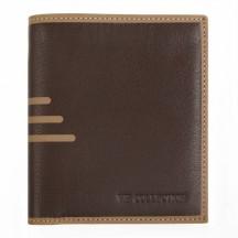 Vip Collection Firenze Portfel męski brązowy