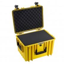 B&W International Walizka specjalistyczna z miękką pianką Outdoor Cases żółta