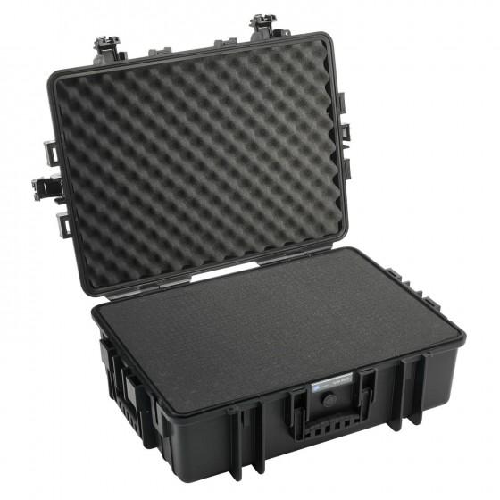 B&W International Walizka specjalistyczna z miękką pianką Outdoor Cases czarna