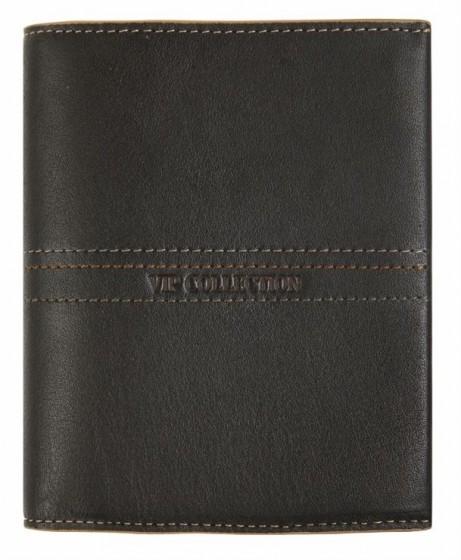 Vip Collection Napoli Portfel skórzany brązowy
