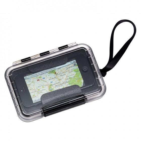 Futerał/Etui specjalistyczne z wytrzymałego tworzywa PP na smartfon marki B&W International model 200 Outdoor Cases - kolor bezbarwny
