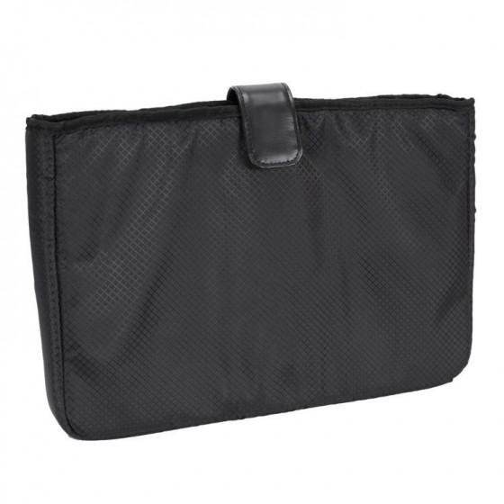 """Torba podróżna, biznesowa męska Walton na laptopa 17"""", skóra naturalna, marki Mcklein z Serii R - kolor czarny"""