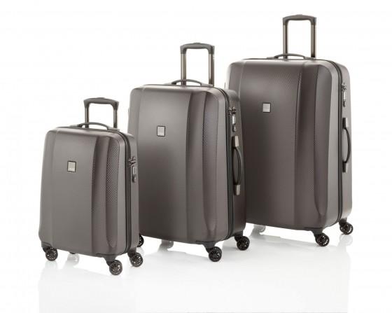 Titan Xenon Deluxe Komplet 3 walizek brązowy