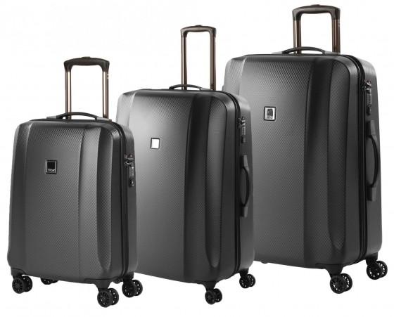 Titan Xenon Deluxe Komplet 3 walizek grafitowy