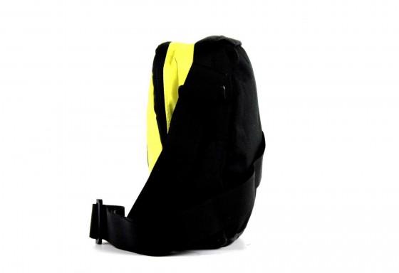 Mała torba na ramię marki National Geographic z serii Explorer, nylon - kolor żółty