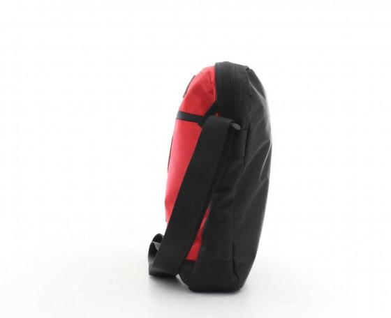 Torba na ramię marki National Geographic z serii Explorer, nylon - kolor czerwony
