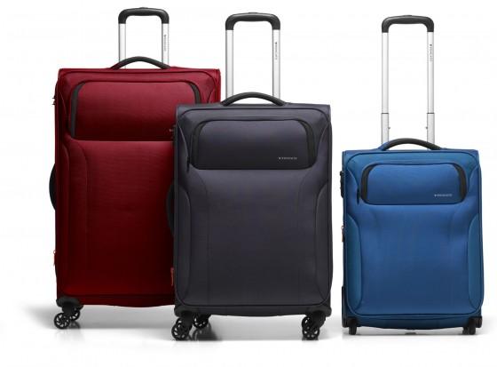 Roncato Zenith Komplet 3 walizek niebieskich