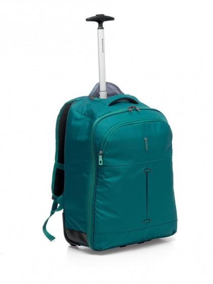 Roncato Ironik Plecak na kółkach podróżny szmaragdowy