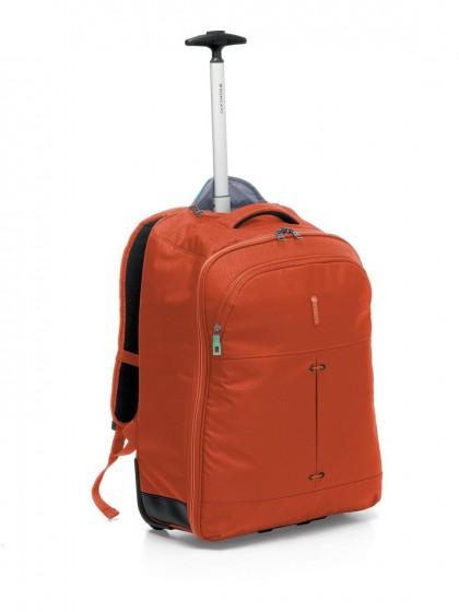 Roncato Ironik Plecak na kółkach podróżny pomarańczowy