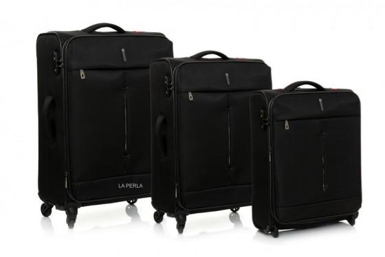 Roncato Ironik Komplet 3 walizek czarnych
