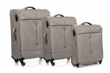 Roncato Ironik Komplet 3 walizek beżowych