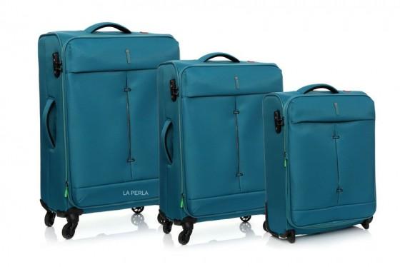 Roncato Ironik Komplet 3 walizek szmaragdowych