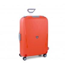 Roncato Light walizka duża pomarańczowa