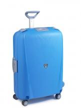 Walizka duża 109 litrów, klamry Roncato Light błękitna