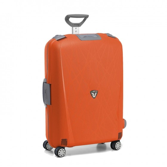 Roncato Light walizka średnia pomarańczowa