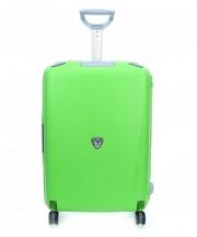 Roncato Light walizka średnia jasno zielona