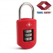 Pacsafe ProSafe 1000 Kłódka na szyfr TSA czerwona