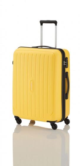 Travelite Uptown Walizka średnia żółty