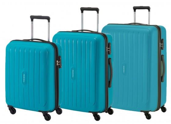 Travelite Uptown Komplet 3 walizek turkusowych