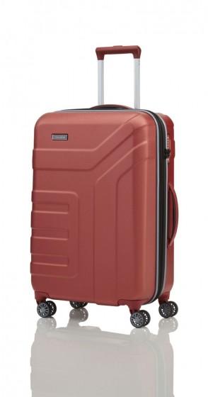 Travelite Vector Walizka średnia czerwona
