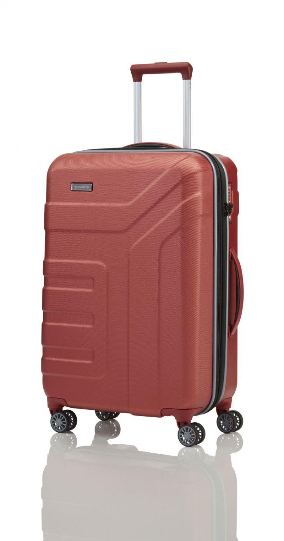 83844373fea10 Walizka średnia poszerzana Travelite z kolekcji Vector, ABS, 4 kółka ...