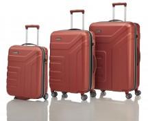 Travelite Vector Komplet 3 walizek czerwonych