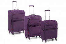 Roncato Venice DeLuxe Komplet 3 walizek purpurowy