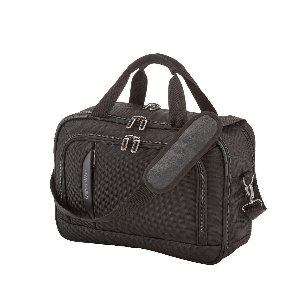 c4a1a14d5b527 ... Travelite CrossLITE Komplet 3 walizek i torba podręczna czarny ...