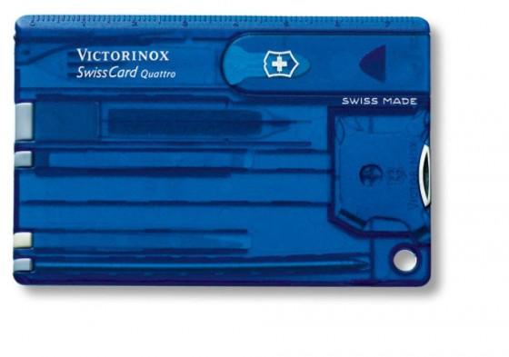 Victorinox SwissCard model Quattro niebieski