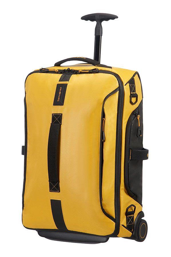ef059a7013eb1 Samsonite Paradiver Light Torba podróżna kabinowa na kółkach żółta ...