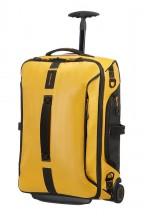 Samsonite Paradiver Light Torba podróżna kabinowa na kółkach żółta
