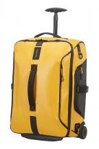 Samsonite Paradiver Light Torba podróżna na kółkach, plecak żółta