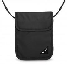 Pacsafe Coversafe X75 Sekretny portfel na szyję czarny