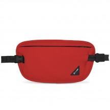 Pacsafe Coversafe X100 Sekretny portfel na pas czerwony