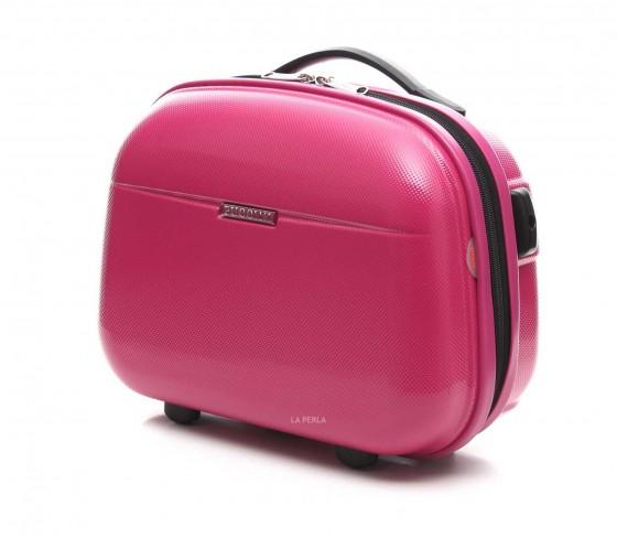Puccini PC 005 Kuferek podróżny, kosmetyczka różowy