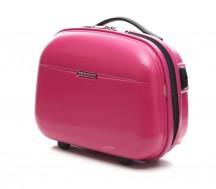 Puccini PC005 Kuferek podróżny, kosmetyczka różowy