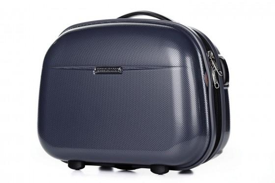 Puccini PC005 Kuferek podróżny, kosmetyczka granatowy
