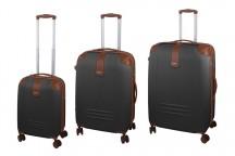Dielle 155 Komplet 3 walizek antracytowy