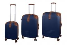 Dielle 155 Komplet 3 walizek granatowy