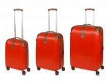 Dielle 155 Komplet 3 walizek czerwony