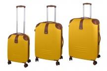 Dielle 155 Komplet 3 walizek żółty