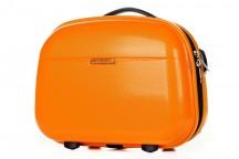 Puccini PC005 Kuferek podróżny, kosmetyczka pomarańczowy