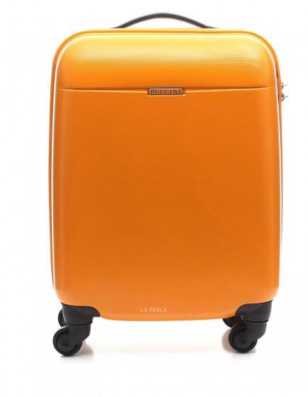 Puccini PC005 Walizka mała pomarańczowa