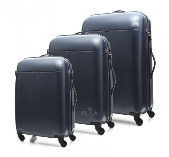 Puccini PC005 Walizka komplet 3 walizek granatowy