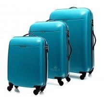 Puccini PC005 Walizka komplet 3 walizek błękitny
