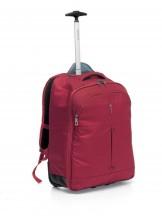 Roncato Ironik Plecak na kółkach podróżny czerwony