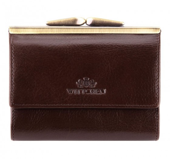 Wittchen Italy Portfel damski portmonetka brązowy