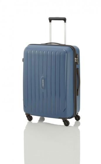 Travelite Uptown Walizka średnia niebieska